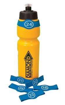 Bild von Flaschenkennzeichnung numeriert